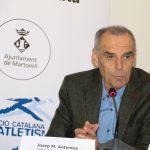 Josep Maria Antentas, vicepresident de la Federació Catalana d'Atletisme