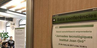 Jornades Tecnològiques Institut Joan Oró