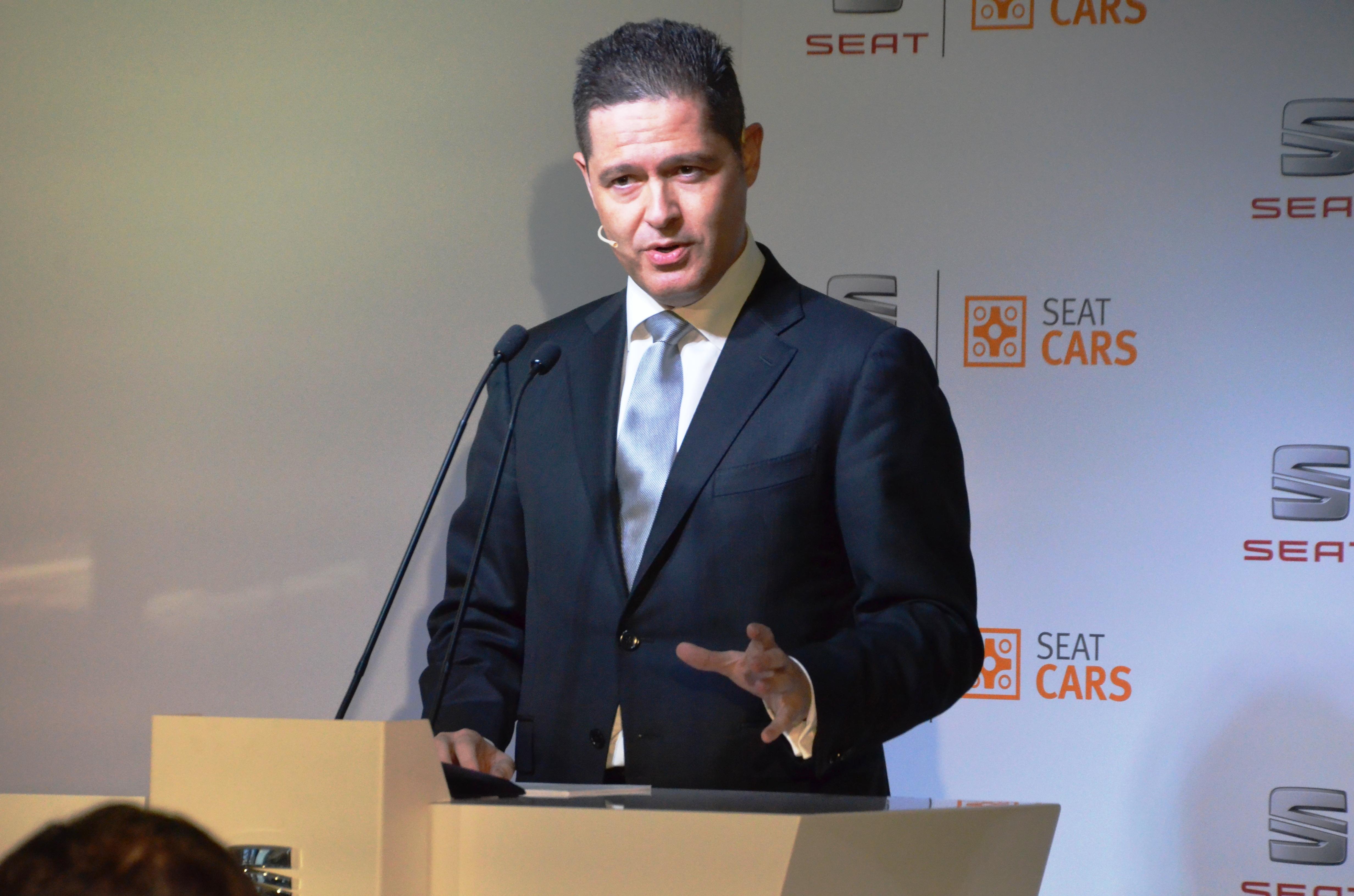 Xavier Ros, vicepresident Recursos Humans SEAT