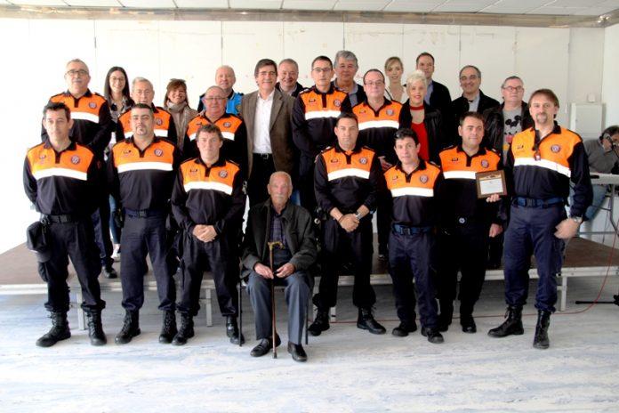 Protecció Civil Martorell. homenatge als voluntaris i inauguració de les noves dependències a Ca n'Oliveras